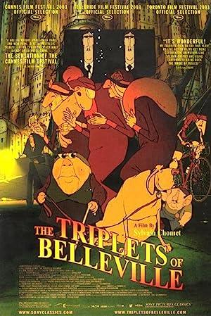 The Triplets of Belleville (2003) poster