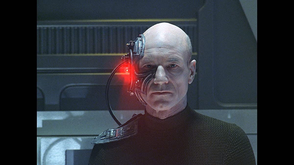 Star trek the next generation the best of both worlds - We are the borg quote ...