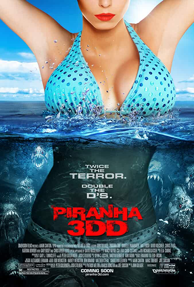 Piranha 3DD 2012 Hindi Dual Audio 720p BRRip full movie watch online freee download at movies365.ws