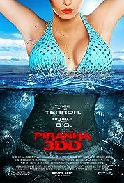 Piranha 3DD poster