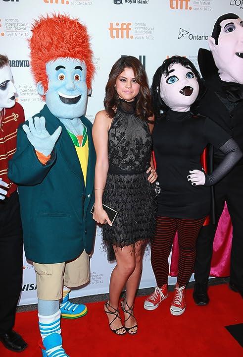 Selena Gomez at an event for Hotel Transylvania (2012)