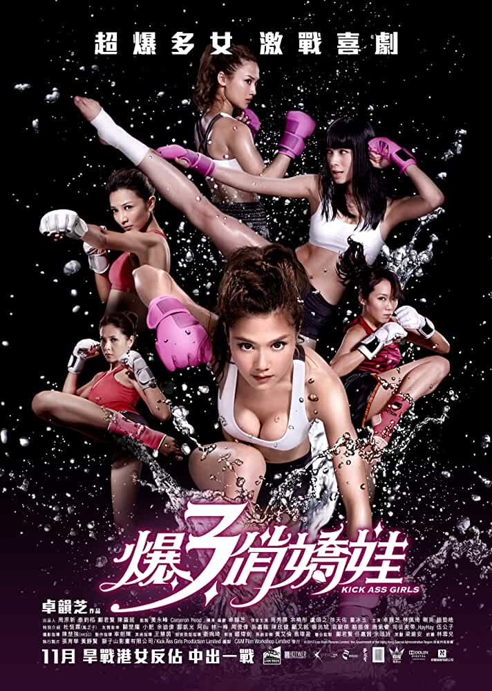 Poster Kick Ass Girls (2013) Full HD Movie Download 300MB Hindi Dubbed