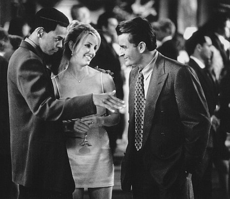 Heather Locklear, Charlie Sheen, and Chris Tucker in Money Talks (1997)