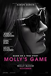 Molly's Game (2017) Poster - Movie Forum, Cast, Reviews