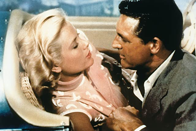 Cary Grant and Grace Kelly in To Catch a Thief (1955)