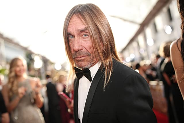 Iggy Pop at an event for The 74th Golden Globe Awards (2017)