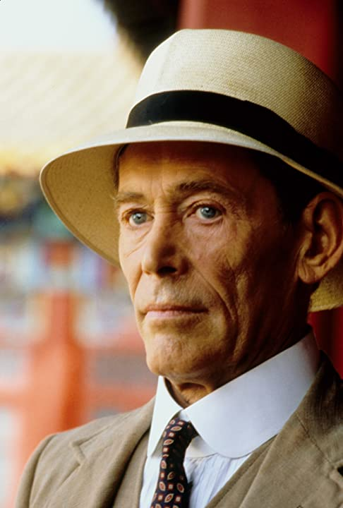 Peter O'Toole in The Last Emperor (1987)