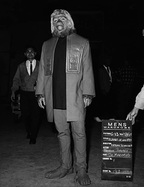 Wardrobe check for Planet of the Apes