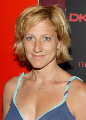Edie Falco at an event for The Omen (2006)