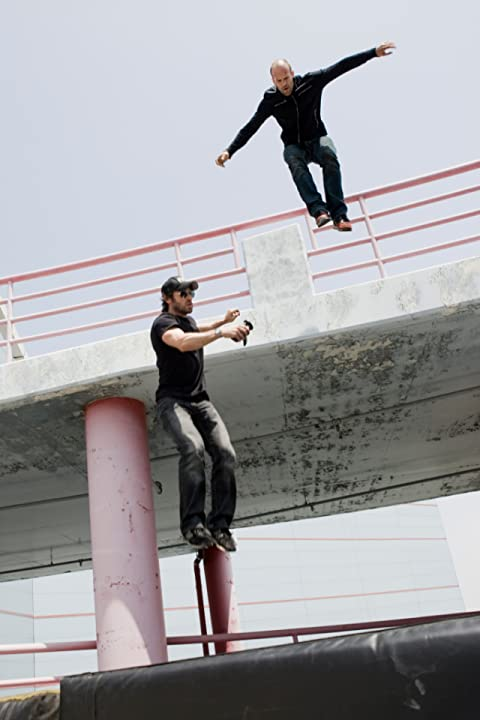 Mark Neveldine and Jason Statham in Crank: High Voltage (2009)