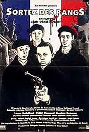 Sortez des rangs Poster