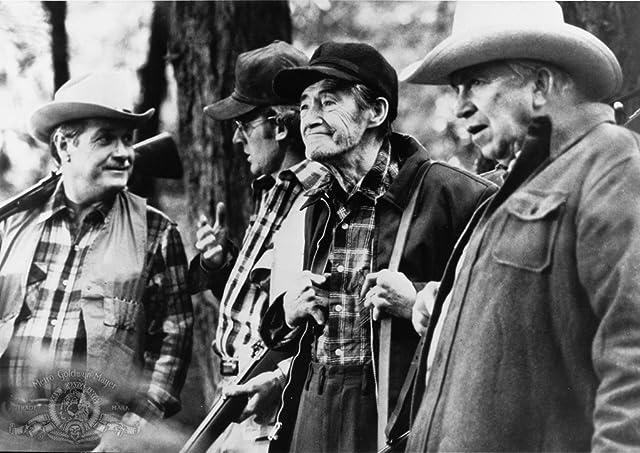 John Carradine, Slim Pickens, James Murtaugh, and Noble Willingham in The Howling (1981)