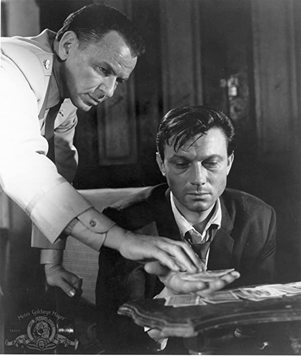 Frank Sinatra and Laurence Harvey in The Manchurian Candidate (1962)