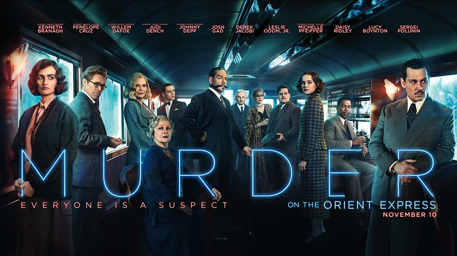 Movie Group Murder On the Orient Express
