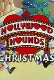 A Hollywood Hounds Christmas Poster