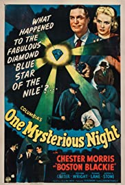 One Mysterious Night(1944) Poster - Movie Forum, Cast, Reviews