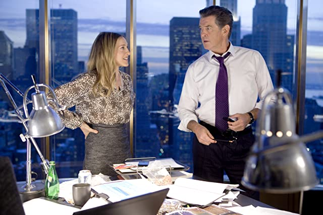 Pierce Brosnan and Sarah Jessica Parker in I Don't Know How She Does It (2011)