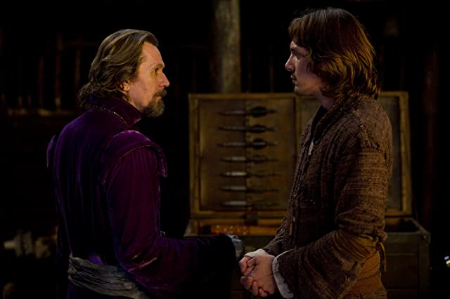 Gary Oldman and Lukas Haas in Red Riding Hood (2011)