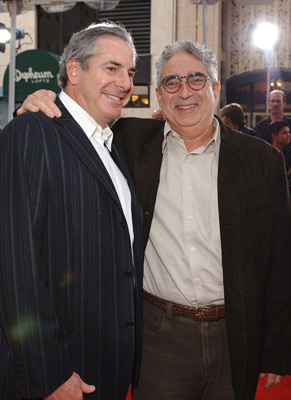 Roger Birnbaum and Lloyd Phillips at The Legend of Zorro (2005)