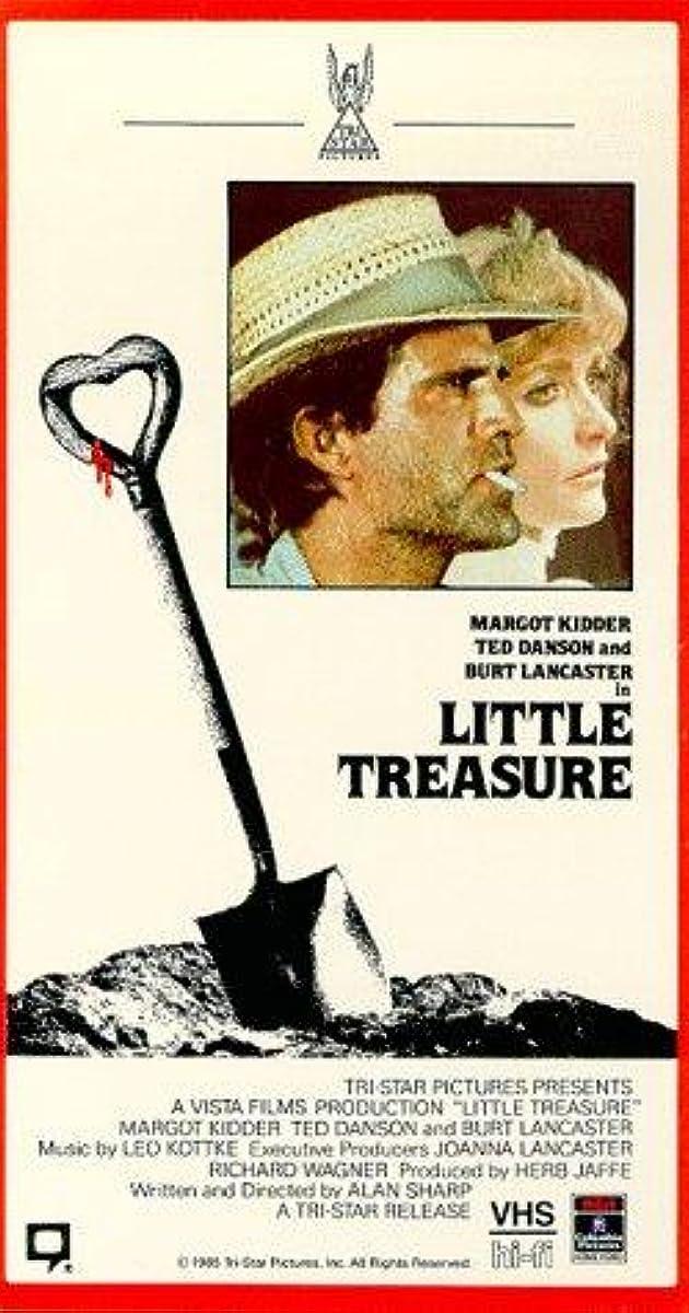 Risultati immagini per little treasure film 1985 locandina