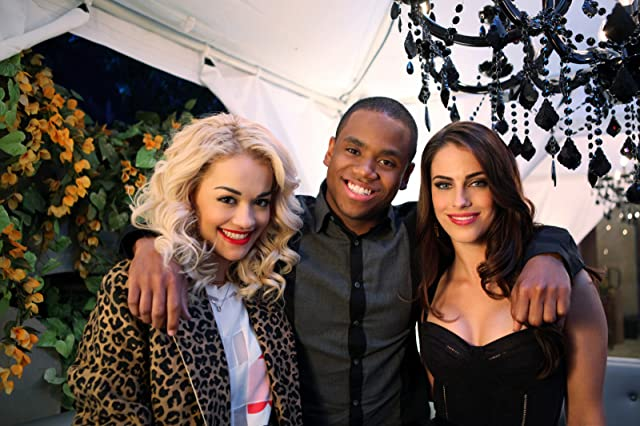 Rita Ora, Jessica Lowndes, and Tristan Mack Wilds in 90210 (2008)