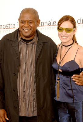 Forest Whitaker and Stefania Rocca at Mary (2005)