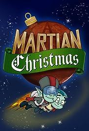 A Martian Christmas Poster