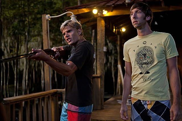 Joel David Moore and Chris Zylka in Shark Night 3D (2011)