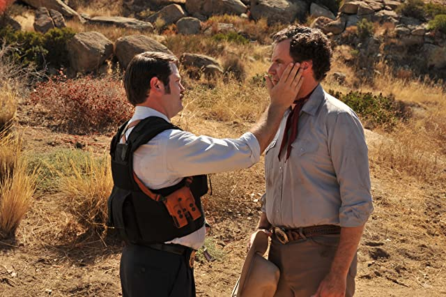 Will Ferrell and Nick Offerman in Casa de mi Padre (2012)