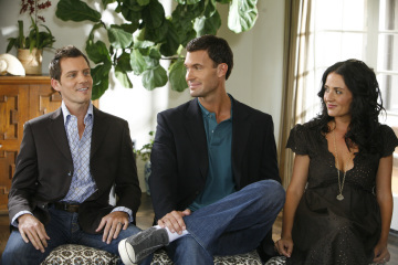 Jenni Pulos, Ryan Brown, and Jeff Lewis in Flipping Out (2007)
