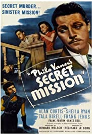 Philo Vance's Secret Mission Poster