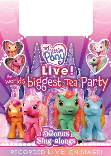 image My Little Pony Live! The World's Biggest Tea Party (2008) (V) Watch Full Movie Free Online