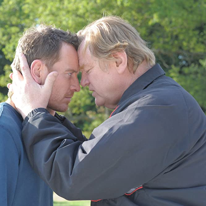 Brendan Gleeson and Michael Fassbender in Trespass Against Us (2016)