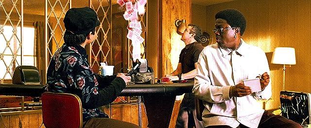 Bernie Mac, Eddie Jemison, and Shaobo Qin in Ocean's Thirteen (2007)
