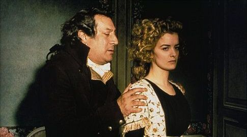 Jean-Claude Dreyfus and Lucy Russell in The Lady and the Duke (2001)