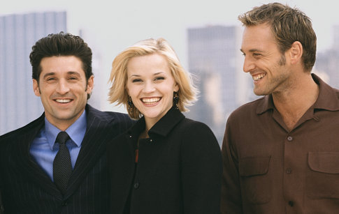 Reese Witherspoon, Patrick Dempsey, and Josh Lucas in Sweet Home Alabama (2002)
