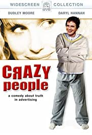 Crazy People (1990) Poster - Movie Forum, Cast, Reviews