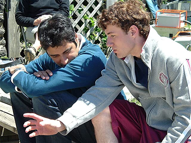 Ian Nelson and Sri Rao in What Goes On (2007)
