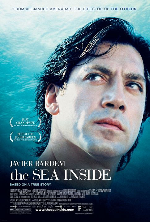 Javier Bardem in The Sea Inside (2004)