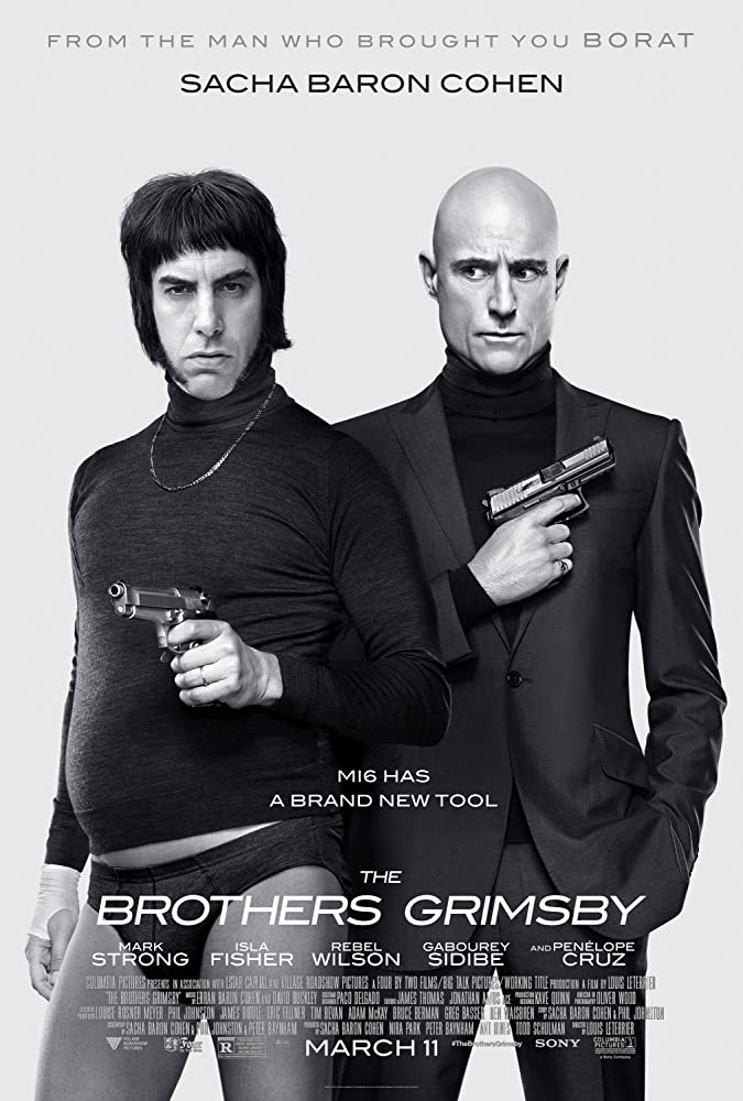 Grimsby film poster