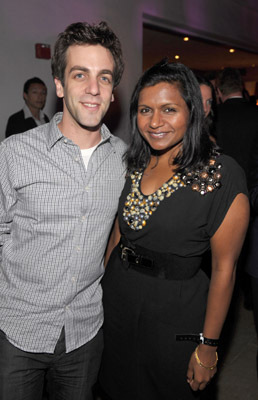 B.J. Novak and Mindy Kaling at event of The 61st Primetime Emmy Awards