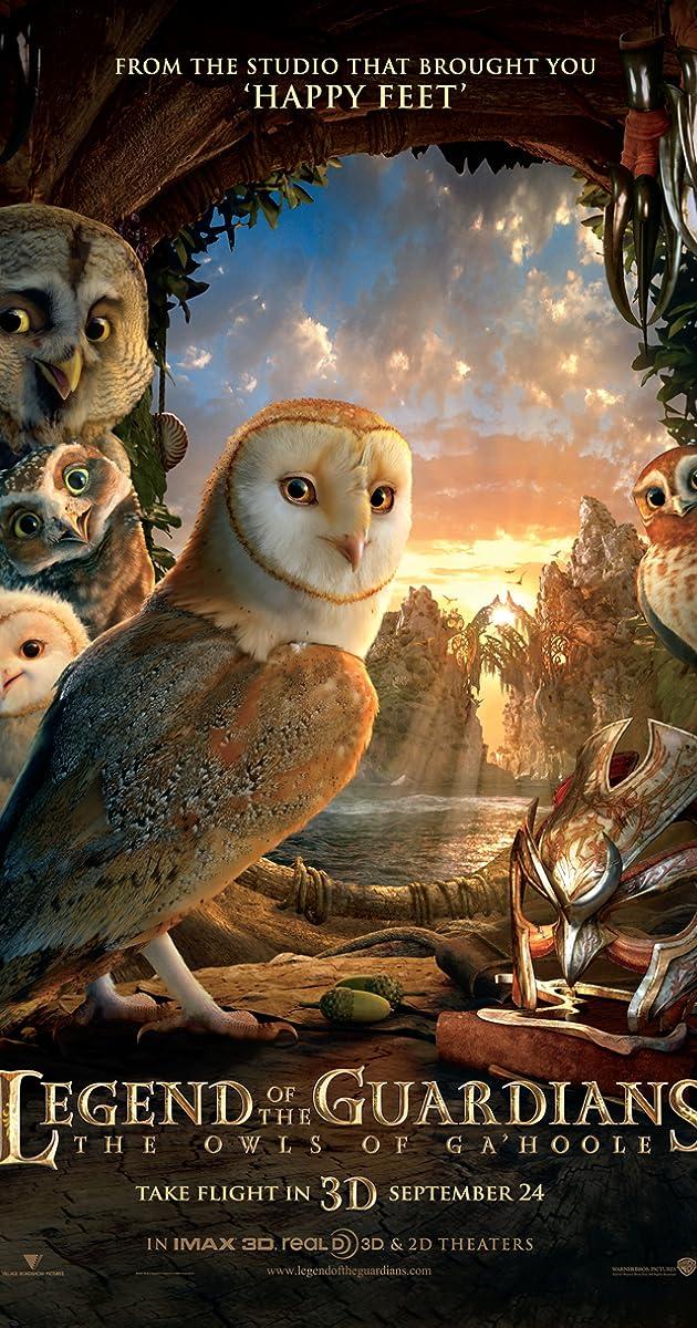 Pelėdų karalystės sargai / Legend of the Guardians: The Owls of Ga'Hoole (2010) Online