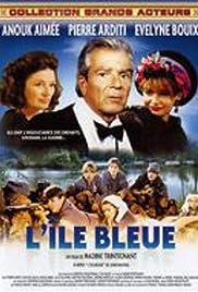 L'île bleue Poster