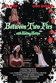 Between Two Firs with Candy Cane Jane Poster