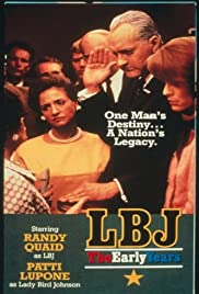 LBJ: The Early Years (1987) Poster - Movie Forum, Cast, Reviews