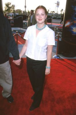 Drew Barrymore at an event for Titan A.E. (2000)