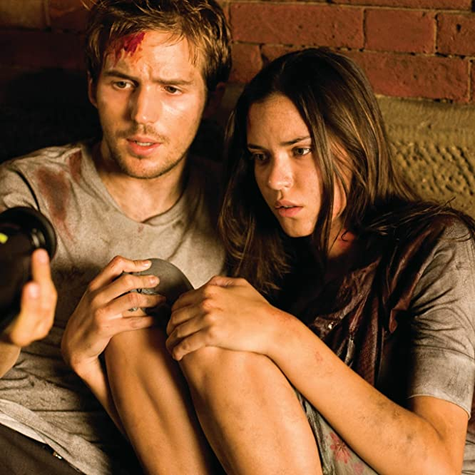 Odette Annable and Michael Stahl-David in Cloverfield (2008)