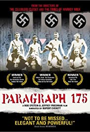 Paragraph 175 (2000) Poster - Movie Forum, Cast, Reviews