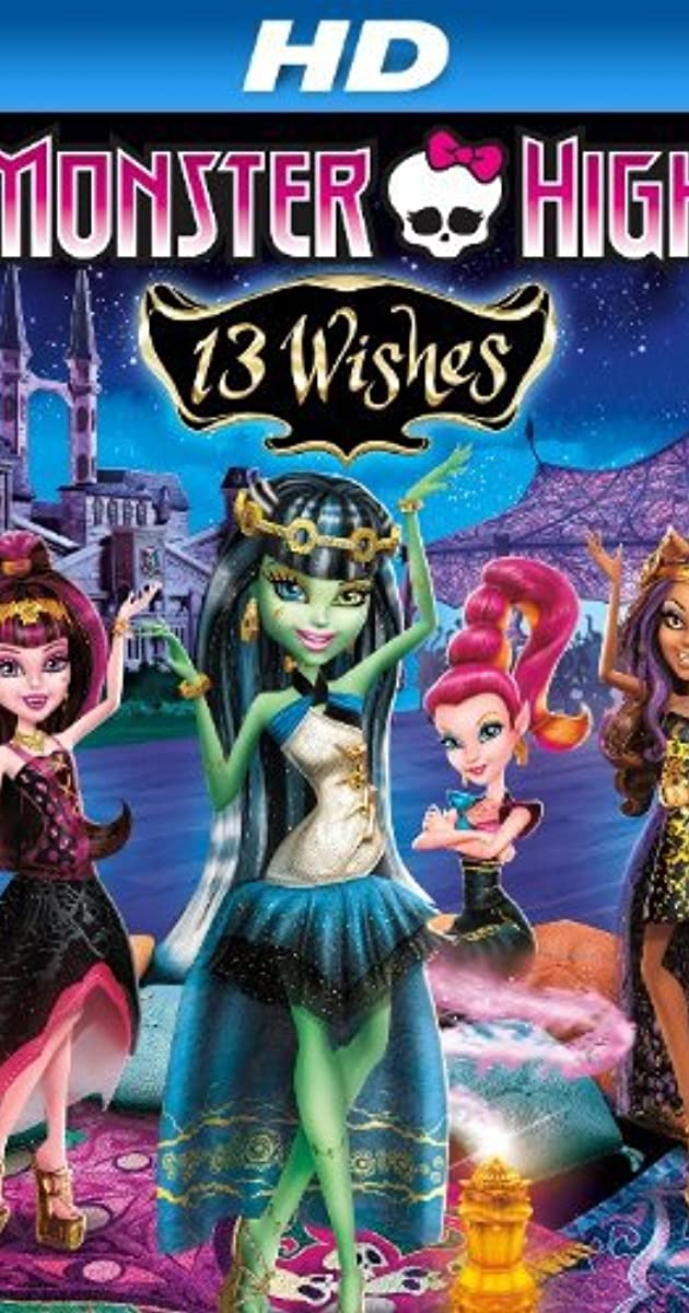 Monster High: 13 Wishes 2013 BRRip