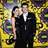 Max Greenfield and Tess Sanchez at an event for The 64th Primetime Emmy Awards (2012)